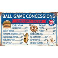 All Star Sports Chicago Cubs Concession Sign from Blain's Farm and Fleet