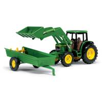 John Deere 1:32 6210 Tractor with Accessories from Blain's Farm and Fleet