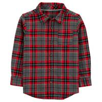 Carter's Boy's Plaid Twill Button-Front Shirt from Blain's Farm and Fleet