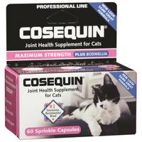 Cosequin 60 Count Nutramax Cat Sprinkle + Boswellia from Blain's Farm and Fleet