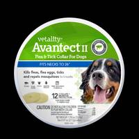 Vetality 2-Count Large Avantect II 12 Month Flea/Tick Dog Collar from Blain's Farm and Fleet