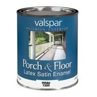 Valspar 1 Quart Porch & Floor Latex Paint from Blain's Farm and Fleet