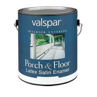 Valspar 1 Gallon Latex Satin Enamel Porch & Floor from Blain's Farm and Fleet