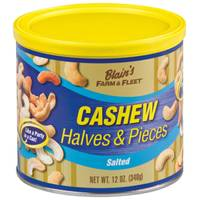 Blain's Farm & Fleet Cashew Halves and Pieces Tin from Blain's Farm and Fleet