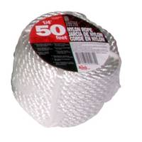 Koch Industries 50' Twisted White Nylon Rope from Blain's Farm and Fleet