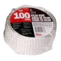 Koch Industries 100' Twisted White Nylon Rope from Blain's Farm and Fleet