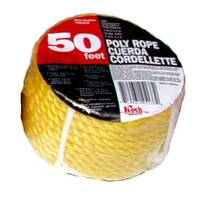 Koch Industries 50' Twisted Yellow Poly Rope from Blain's Farm and Fleet