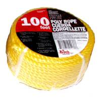 Koch Industries 100' Twisted Yellow Poly Rope from Blain's Farm and Fleet