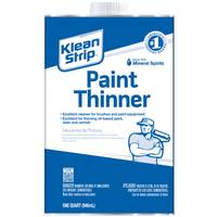 Klean-Strip Paint Thinner 1 Qt from Blain's Farm and Fleet
