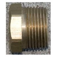 J & D Manufacturing Hex Brass Bushing from Blain's Farm and Fleet