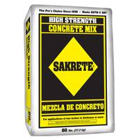 Sakrete High Strength Concrete Mix from Blain's Farm and Fleet