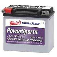 Duration 12BS AGM Powersport Battery from Blain's Farm and Fleet