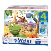 Patch 4-Pack Picture Puzzles Assortment from Blain's Farm and Fleet