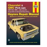 Haynes 24064 Chevrolet & GMC Pick-Up, '67-'87 Manual from Blain's Farm and Fleet