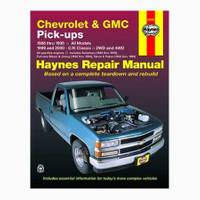 Haynes 24065 Chevrolet & GMC Pick-ups (88-98) & C/K Classic (99-00) Manual from Blain's Farm and Fleet