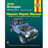 Haynes Jeep Wrangler Manual from Blain's Farm and Fleet