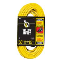 Yellow Jacket Lock - Jaw Locking Plug Extension cord from Blain's Farm and Fleet