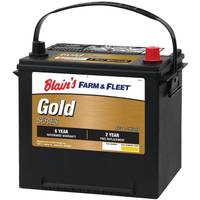 Blain's Farm & Fleet 6-Year Gold Automotive Battery from Blain's Farm and Fleet