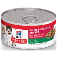 Hill's Science Diet 5.5 oz Minced Liver / Chicken Entree Kitten Food from Blain's Farm and Fleet