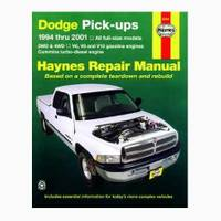 Haynes 30041 Dodge 1500 Pick-Ups (94-01) & 2500/3500 Pick-Ups (94-02) Manual from Blain's Farm and Fleet