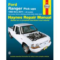 Haynes Ford Ranger & Mazda Pick-Ups, '93-'11 Manual from Blain's Farm and Fleet