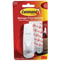 Command Large Utility Hook with Command Adhesive from Blain's Farm and Fleet