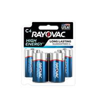 Rayovac C Alkaline Batteries 4-Pack from Blain's Farm and Fleet