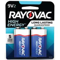 Rayovac 9V Alkaline Battery 2-Pack from Blain's Farm and Fleet