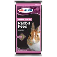 Agrimaster 40 lb Complete 17 Rabbit Feed from Blain's Farm and Fleet