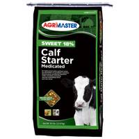 Agrimaster Sweet 18 Calf Starter Feed from Blain's Farm and Fleet