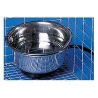 Allied Precision Heated Pet Bowl with Cage Mount from Blain's Farm and Fleet