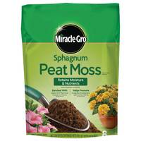 Miracle-Gro Sphagnum Peat Moss from Blain's Farm and Fleet
