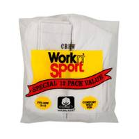 Work n' Sport Crew Socks 12 Pack from Blain's Farm and Fleet