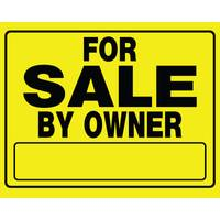 Hillman For Sale By Owner Corrugated Plastic Signs from Blain's Farm and Fleet