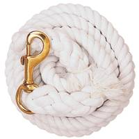 Weaver Leather White Cotton Lead Rope with Solid Brass 225 Snap from Blain's Farm and Fleet