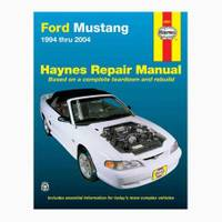 Haynes Ford Mustang, '94-'04 Manual from Blain's Farm and Fleet