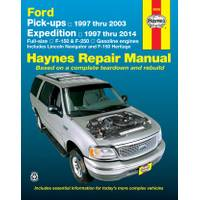 Haynes Ford Pick-Ups, '97-'04 & Expedition & Lincoln Navigator, '97-'14 Manual from Blain's Farm and Fleet