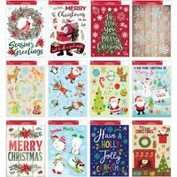 Impact Innovations Christmas Window Cling Assortment from Blain's Farm and Fleet