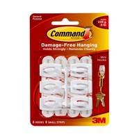 Command Mini Hooks with Command Adhesive from Blain's Farm and Fleet