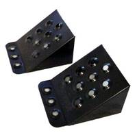Petersen Tru - Cut Automotive Steel Safety Chocks from Blain's Farm and Fleet