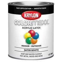 Valspar 1 Quart Satin Decorator Latex Enamel Paint from Blain's Farm and Fleet