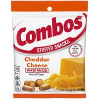 Combos Cheddar Cheese Pretzel Snacks from Blain's Farm and Fleet