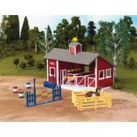 Breyer Red Stable Barn Set from Blain's Farm and Fleet