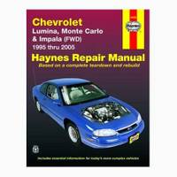 Haynes Chevrolet Lumina & Monte Carlo, '95-'05 Manual from Blain's Farm and Fleet