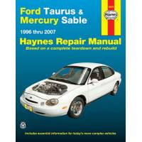 Haynes Ford Taurus & Mercury Sable, '96-'07 Manual from Blain's Farm and Fleet
