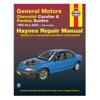 Haynes GM: Chevrolet Cavalier & Pontiac Sunfire, '95-'05 Manual from Blain's Farm and Fleet