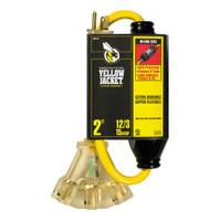 Yellow Jacket Extension Cord with GFCI Powerblock from Blain's Farm and Fleet