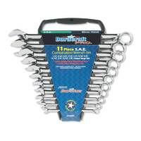 Duracraft Pro 11 Piece SAE Combination Wrench Set from Blain's Farm and Fleet
