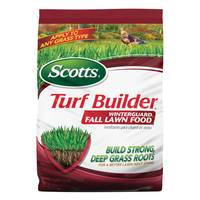 Scotts 37.5 lb. Turf Builder Winterguard Fall Lawn Food from Blain's Farm and Fleet