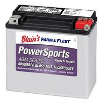 Duration 20LBS AGM Powersport Battery from Blain's Farm and Fleet